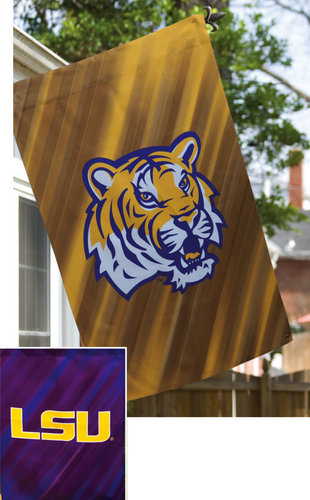 WinCraft LSU Tigers Suede Double Sided Flag (WinCraft)