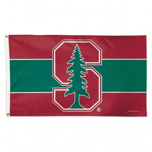 WinCraft Stanford Cardinal 3' x 5' Deluxe Flag 02331115 (WinCraft)