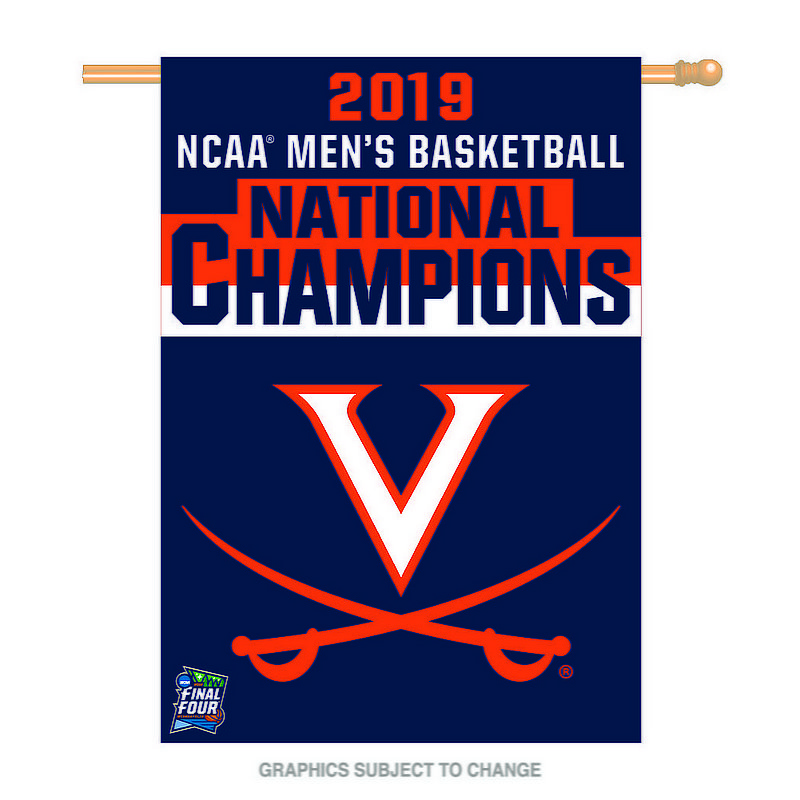 "Wincraft UVA Virginia Cavaliers National Basketball Champions 28""x40"" Flag 2019 (Wincraft)"