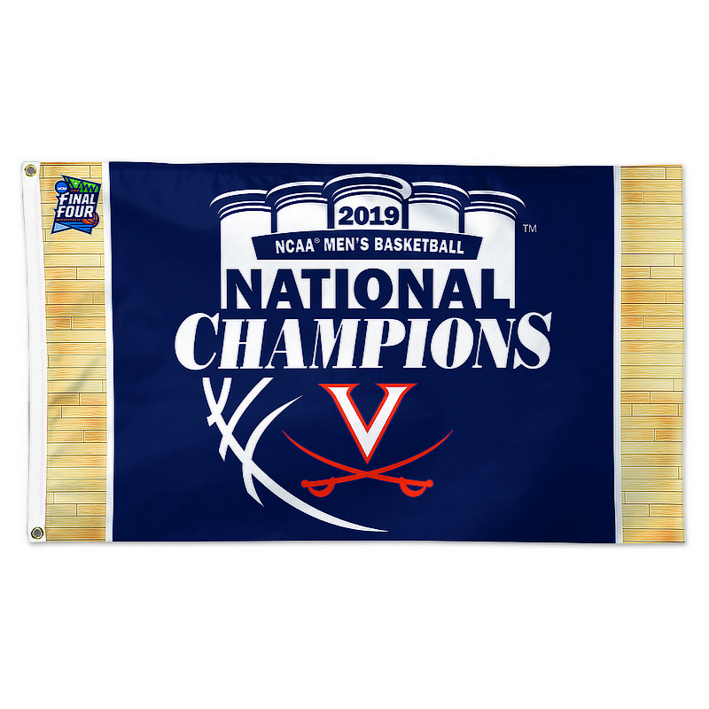 Wincraft Virginia Cavaliers National Basketball Champions 3'x5' Flag 2019 (Wincraft)