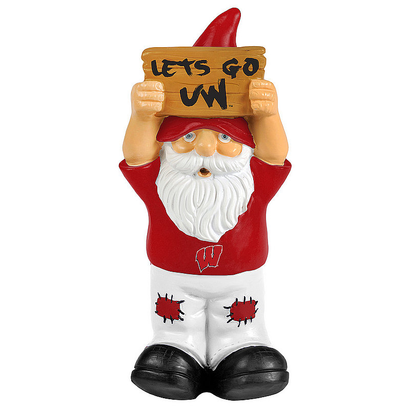 Wisconsin Badgers Garden Gnome GN8NCSLOSIGNWI