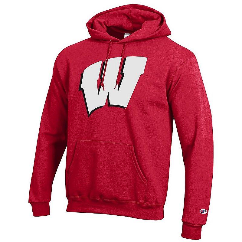 Wisconsin Badgers Hoodie Sweatshirt Icon Cardinal APC03003827