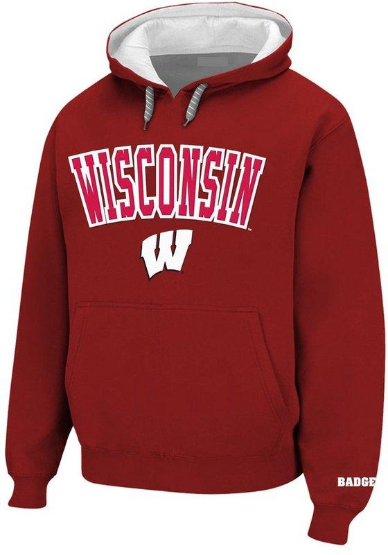 Wisconsin Badgers Hoodie Sweatshirt