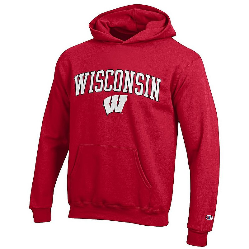 Wisconsin Badgers Kids Hoodie Sweatshirt Cardinal APC03008735