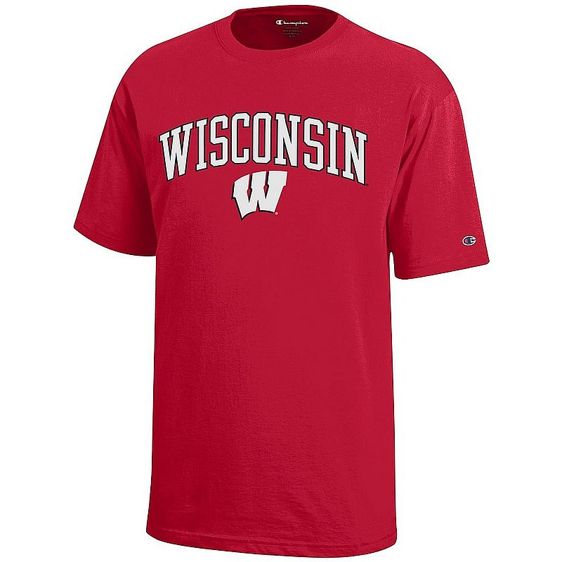 Wisconsin Badgers Kids TShirt Scarlet APC03008735