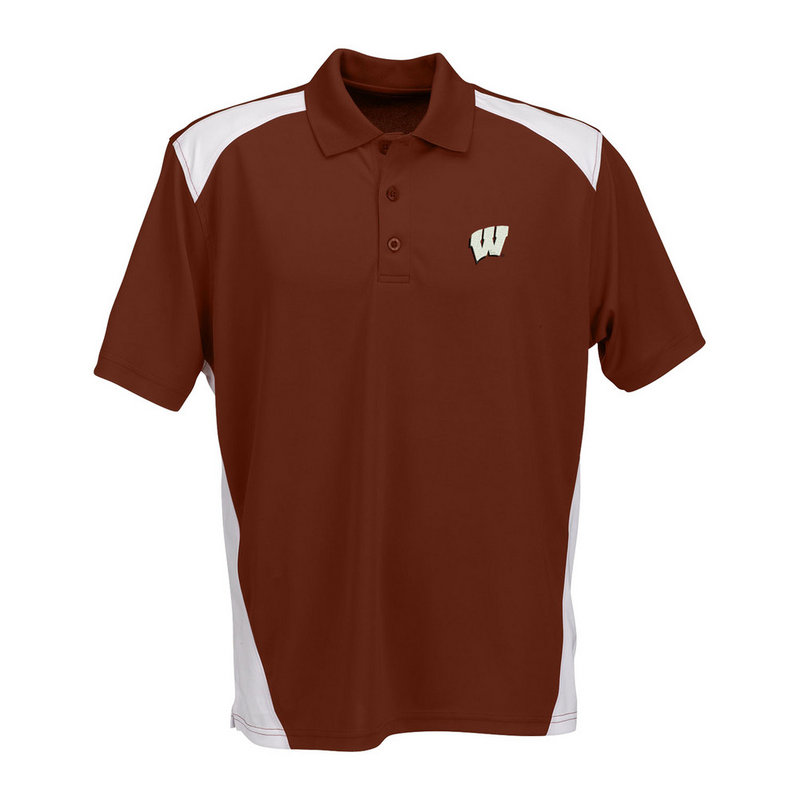 Wisconsin Badgers Polo Shirt 2613RRE/E266934