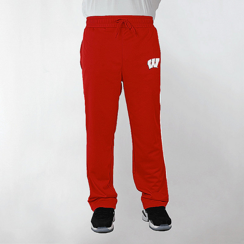 Wisconsin Badgers Poly Sweatpants Captain Cardinal WIS5P808