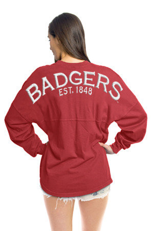Wisconsin Badgers Spirit Shirt Red