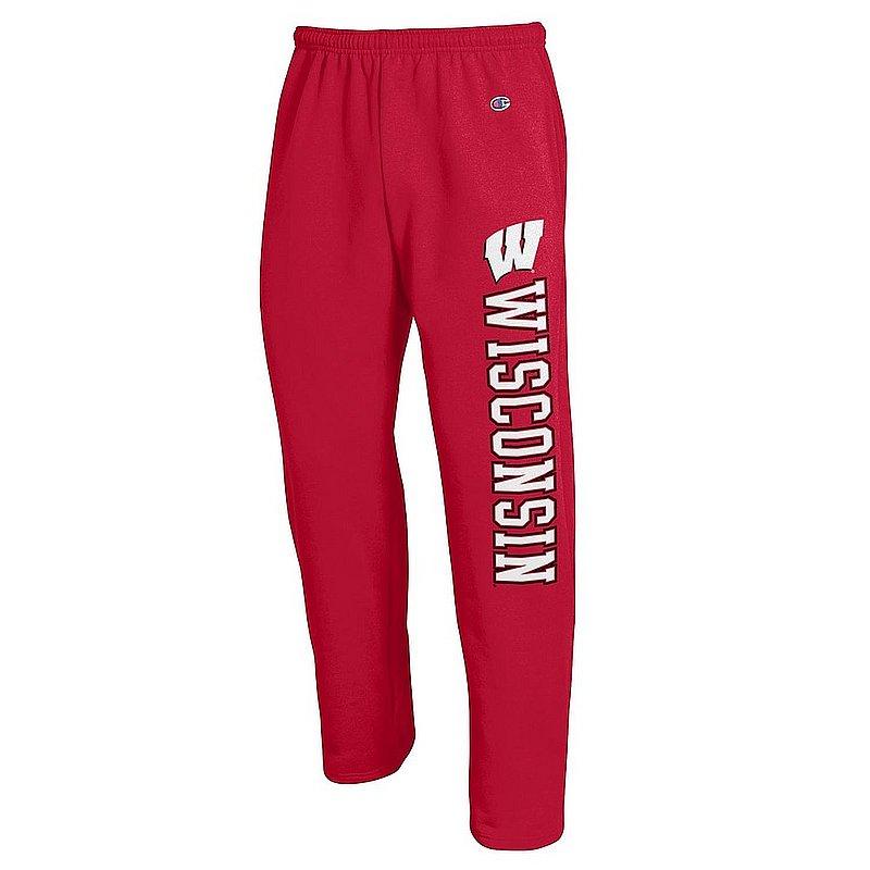 Wisconsin Badgers Sweatpants Pockets Cardinal APC02990840