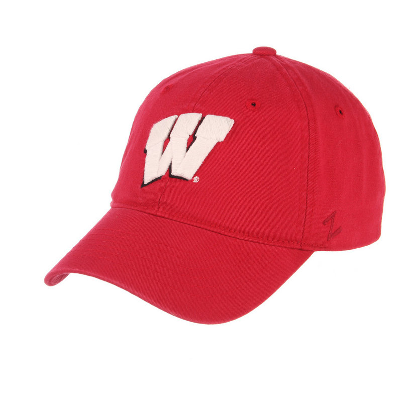 Wisconsin Badgers Team Hat Cardinal WISSCH0080