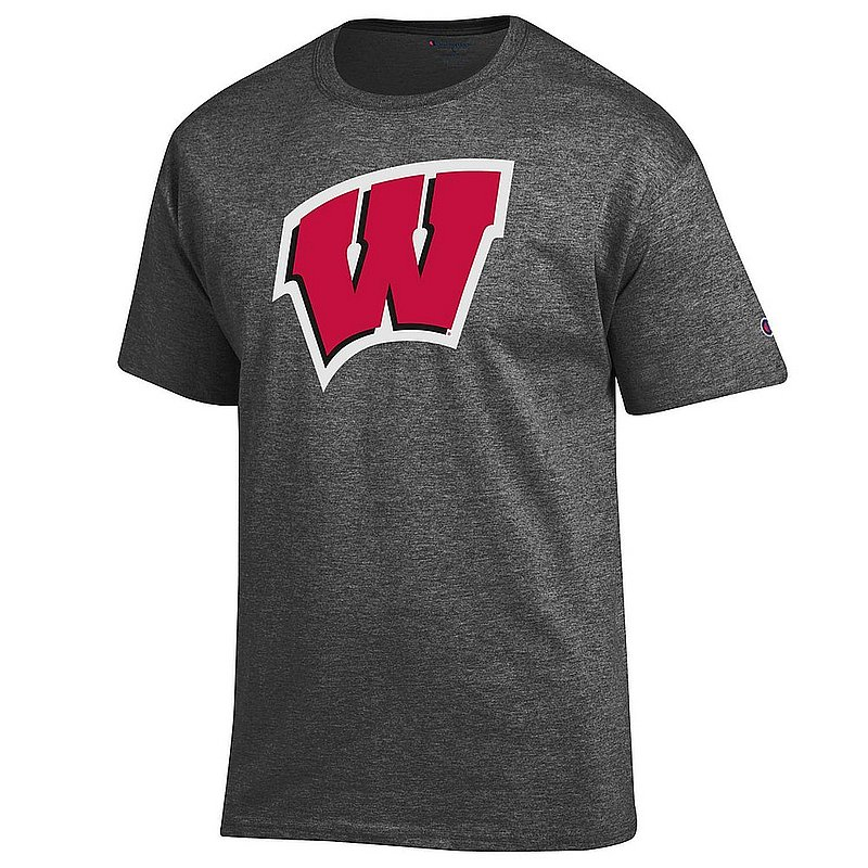 Wisconsin Badgers TShirt Icon Charcoal APC03003977