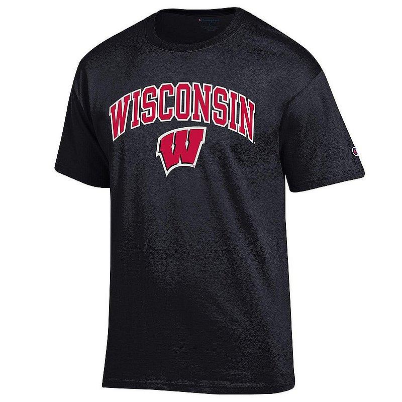 Wisconsin Badgers TShirt Varsity Black APC03006758