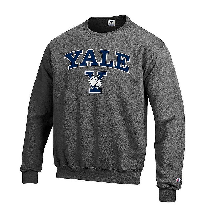 Yale Bulldogs Crewneck Sweatshirt Varsity Charcoal APC03004085