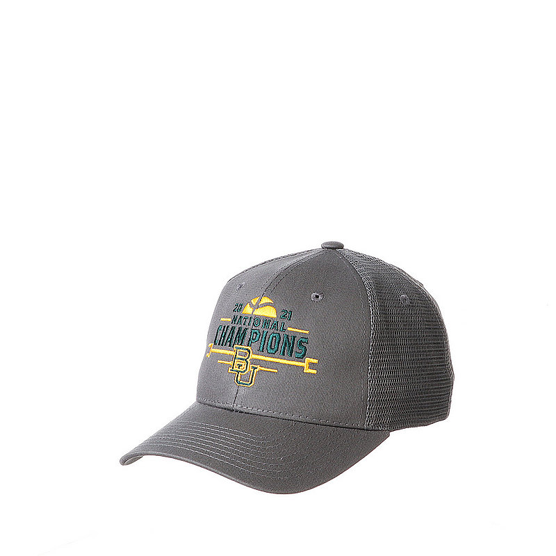 Zephyr Baylor Bears National Basketball Championship Hat 2021 Big Rig NCABIG0040 (Zephyr)