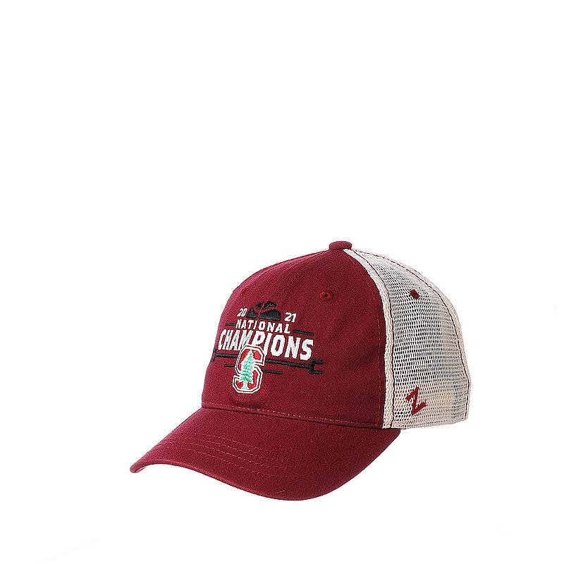 Zephyr Stanford Cardinal Womens National Basketball Championship Hat 2021 University WCWUNV0010 (Zephyr)