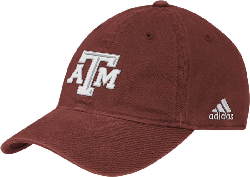 Texas A Amp M Aggies Fitted Hat Icon Maroon