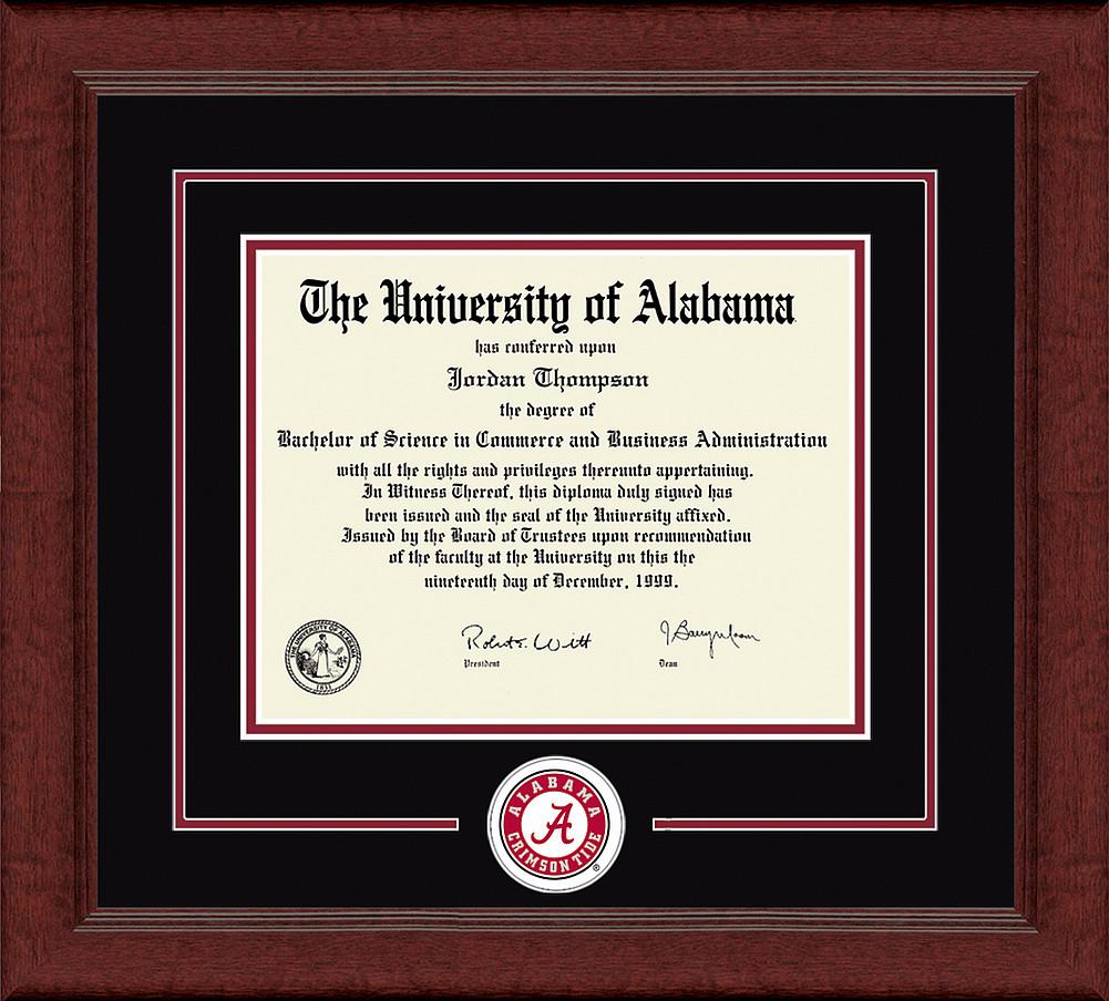 Alabama Crimson Tide Diploma Frame 304202