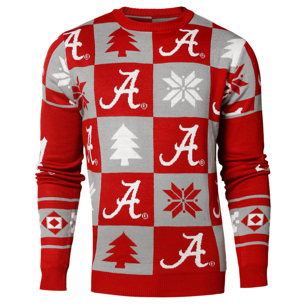 Alabama Crimson Tide Ugly Christmas Sweater Swtcnnc16patalbl
