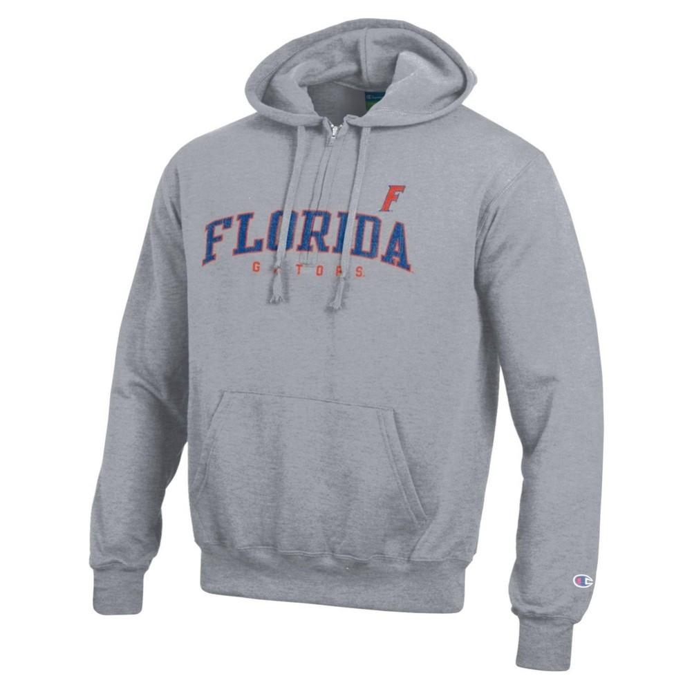 Florida Gators Hooded Sweatshirt Gray Arching Over Gators