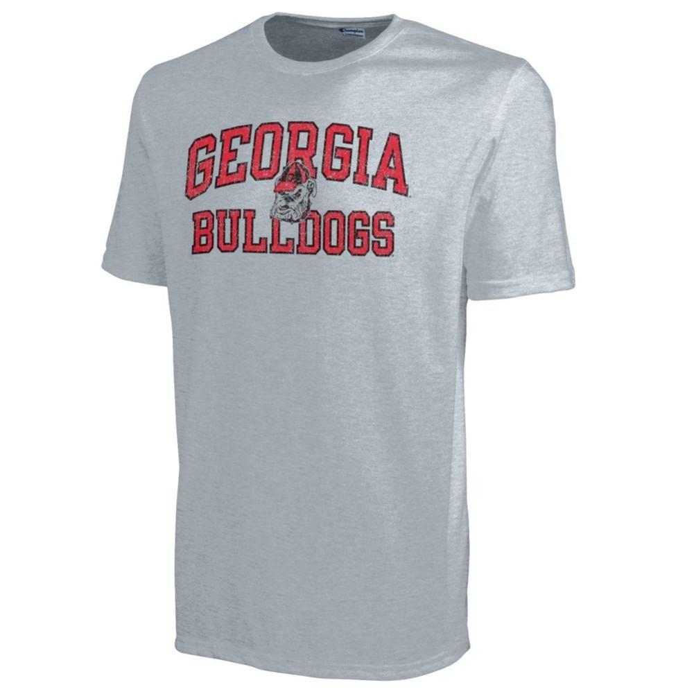 Georgia Bulldogs Mens T Shirt Gray 4725271 Apc02443080