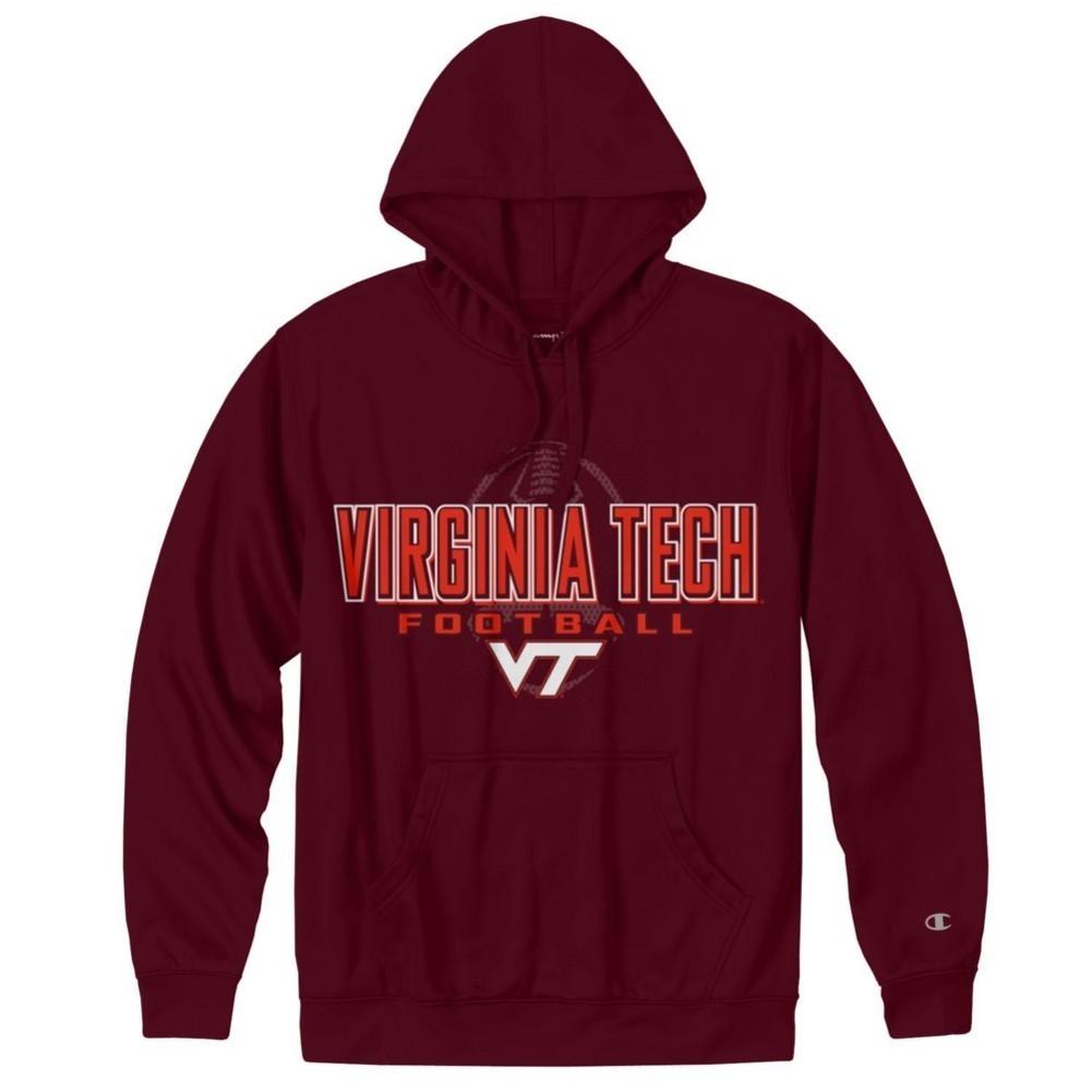76bd44738 Virginia Tech Hokies Football Mens Performance Hoodie 4723954 ...