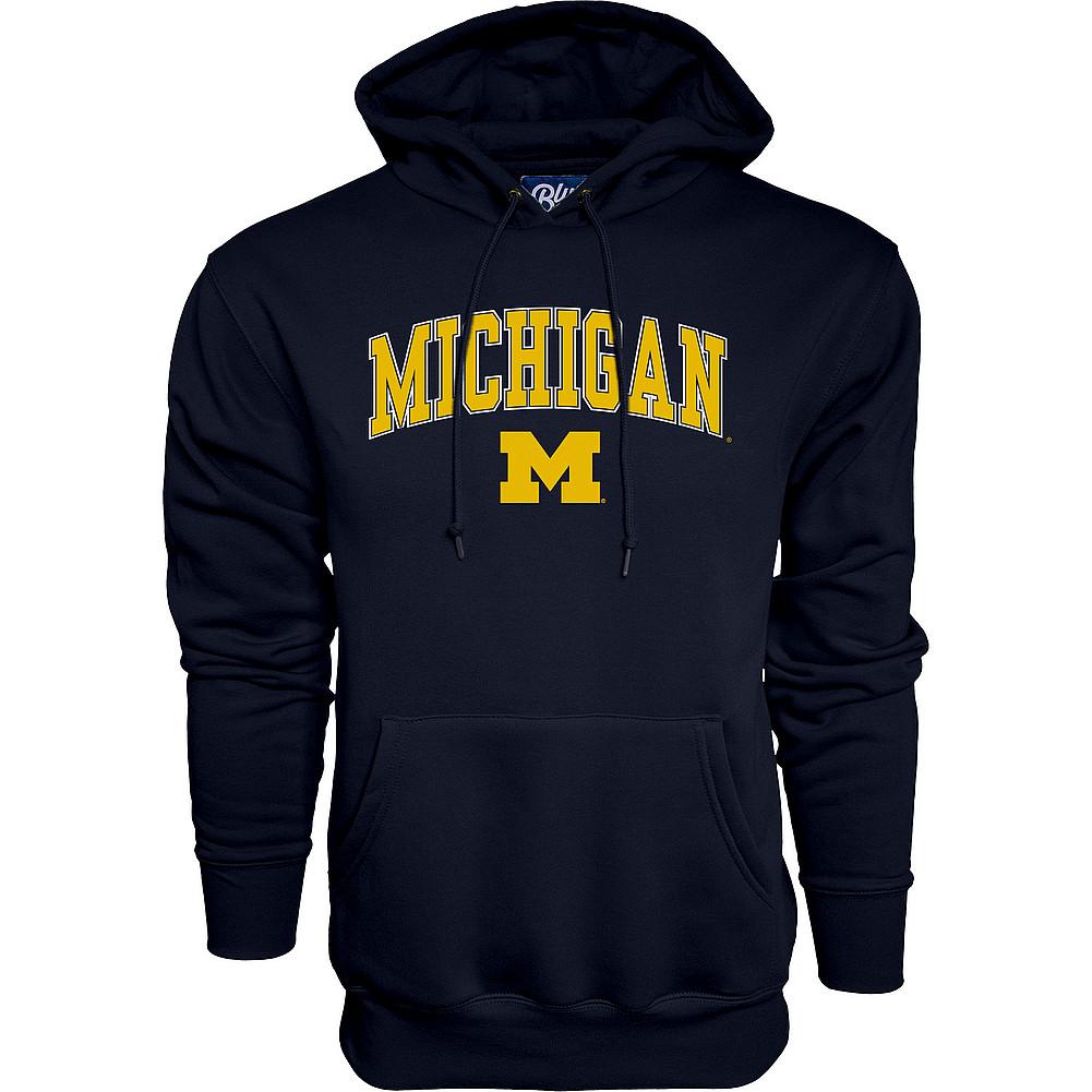 2a0ec7bd2 Michigan Wolverines Hoodie Sweatshirt Varsity Navy APC02827796