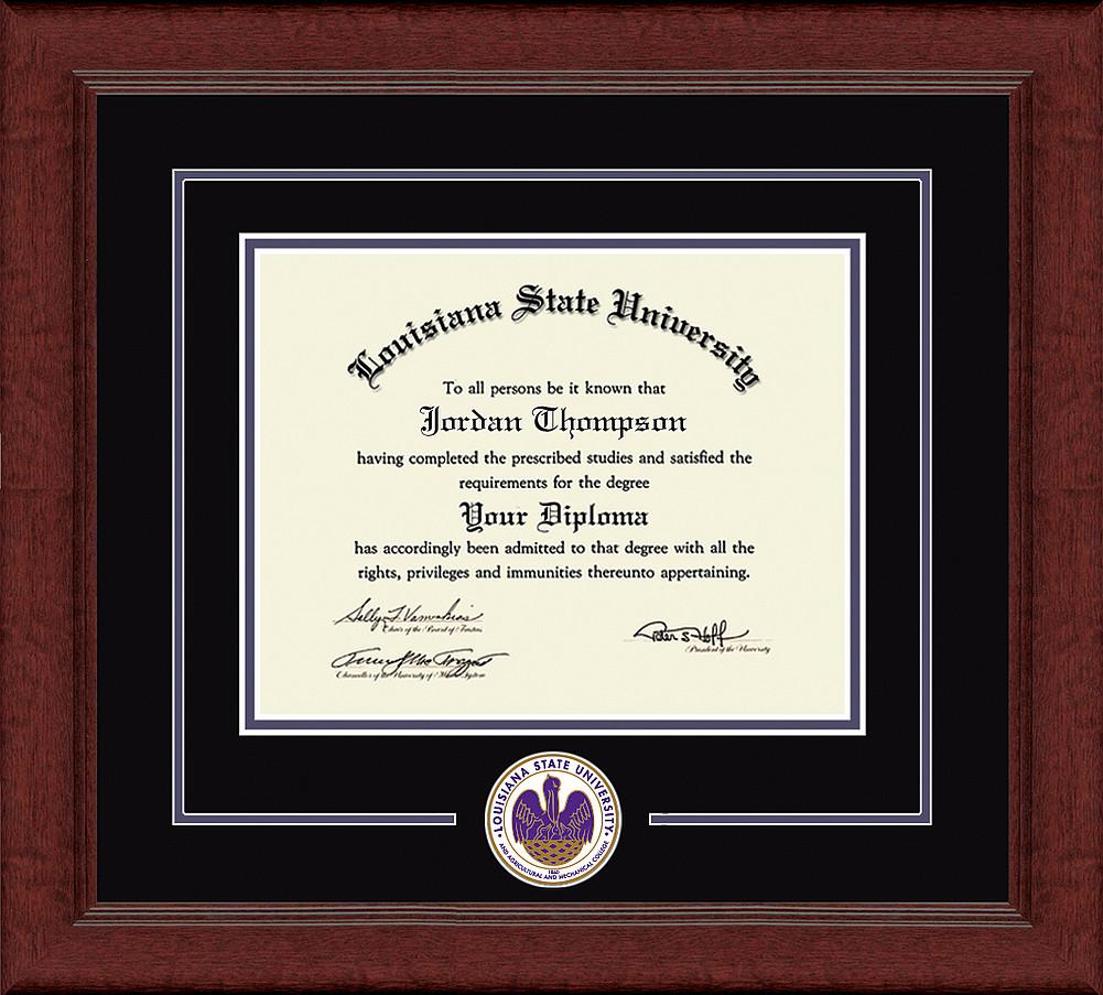 LSU Tigers Diploma Frame 304207