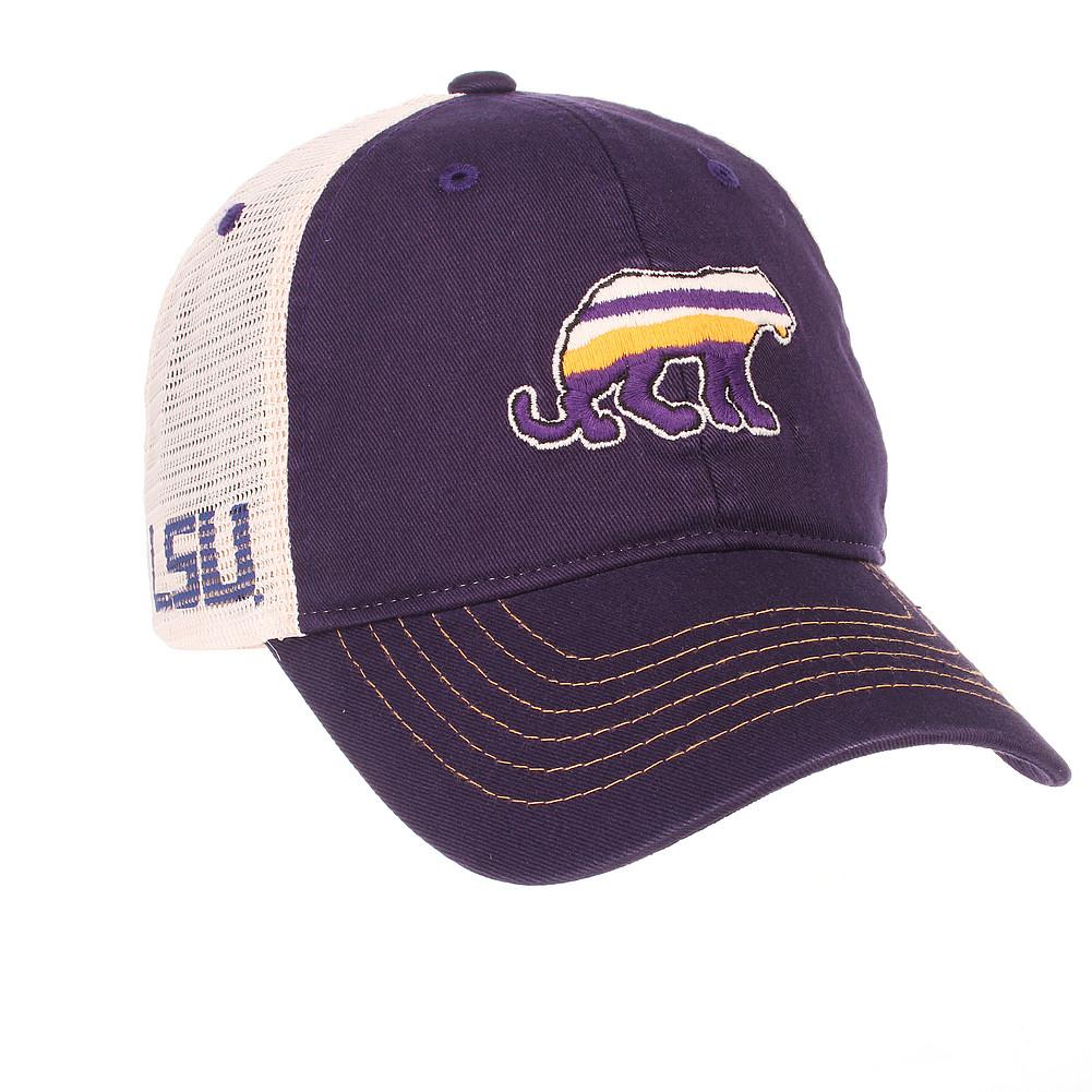 a32d31b52dd LSU Tigers Trucker Hat LSUCNT0030