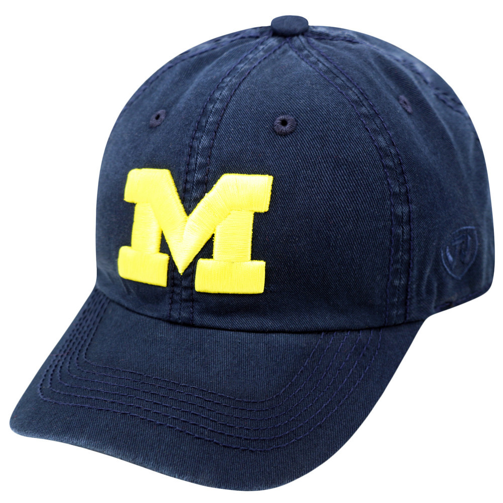 reputable site b4424 68d4f ... cheap michigan wolverines hat icon navy bf9bb 10cb1