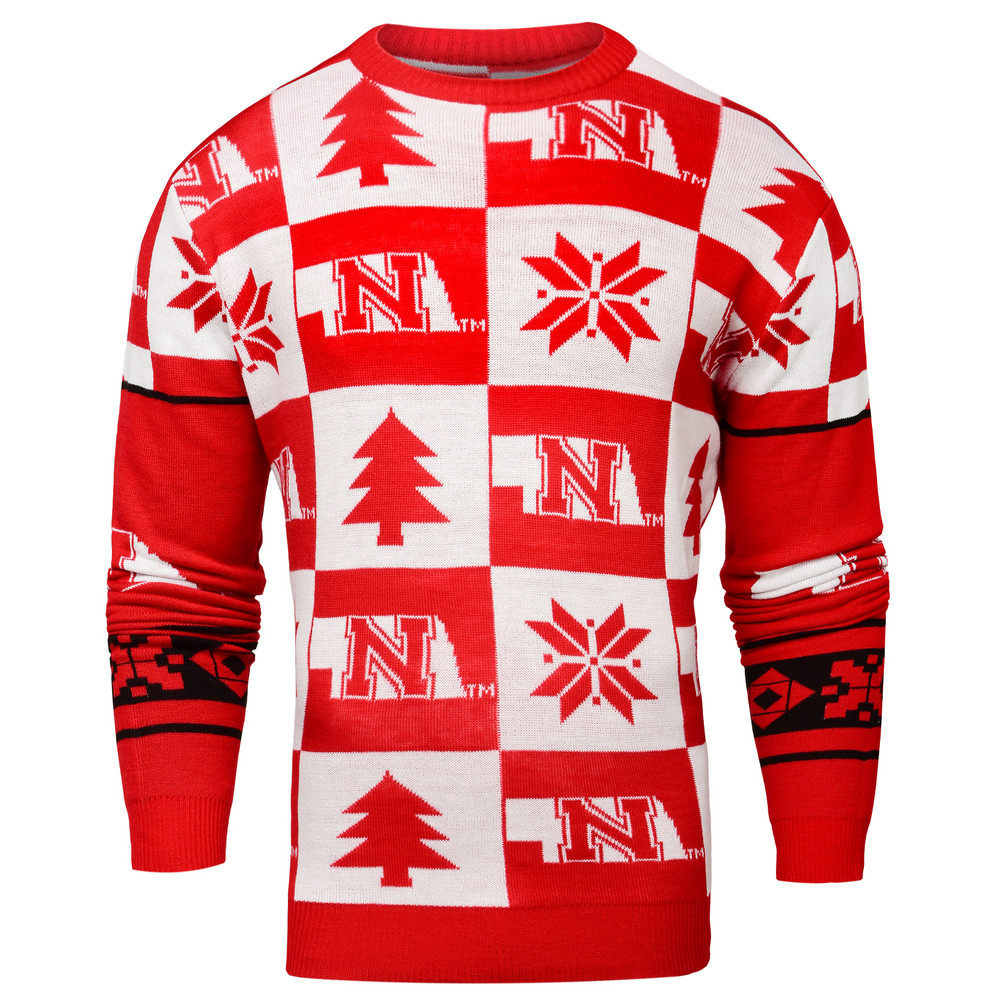 Nebraska Cornhuskers Ugly Christmas Sweater SWTCNNC16PATNE