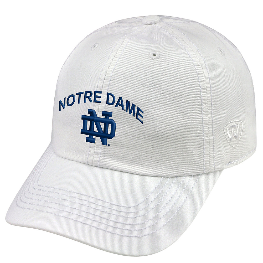 ... wholesale notre dame fighting irish hat arch white ecc2b 8b80a 79147894ec9a