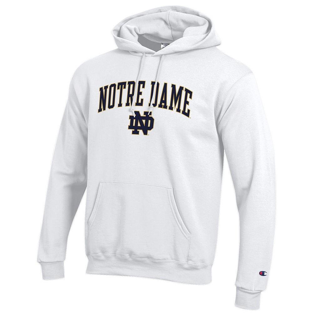 a60b870947ca Notre Dame Fighting Irish Hoodie Sweatshirt White APC03006353
