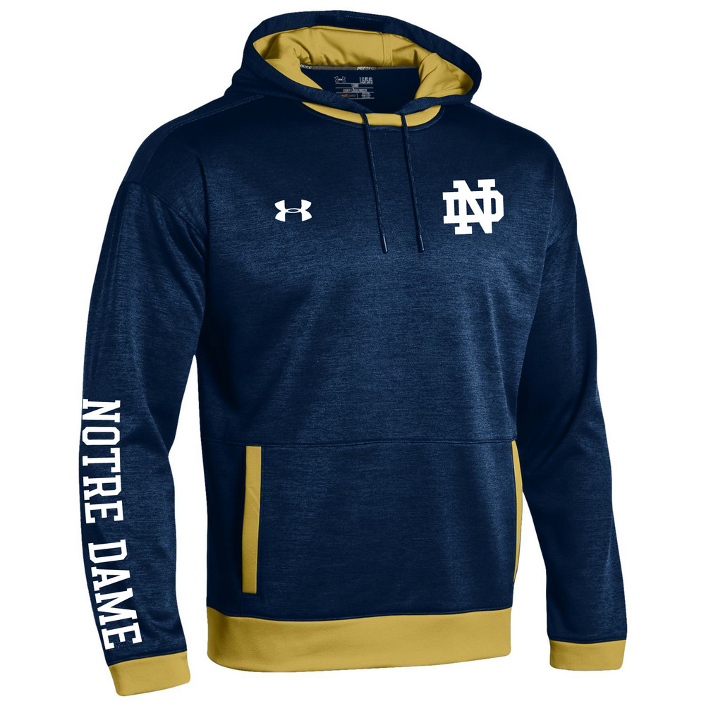 Notre Dame Fighting Irish Sideline Hoodie Sweatshirt