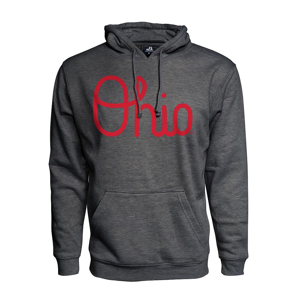 33897616fa4 Ohio State Buckeyes Hoodie Sweatshirt Charcoal 461116