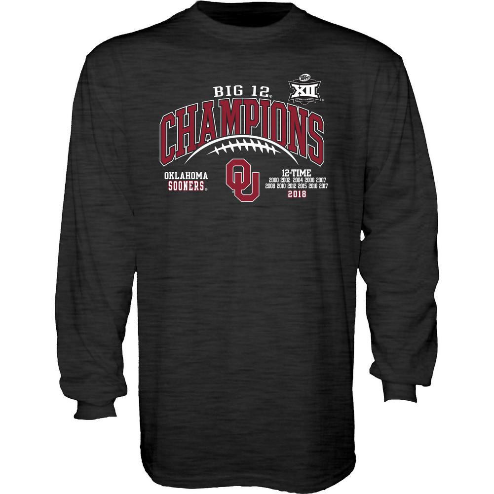 Oklahoma Sooners 2016 Conference Champions Long Sleeve Shirt Sz Medium or Large