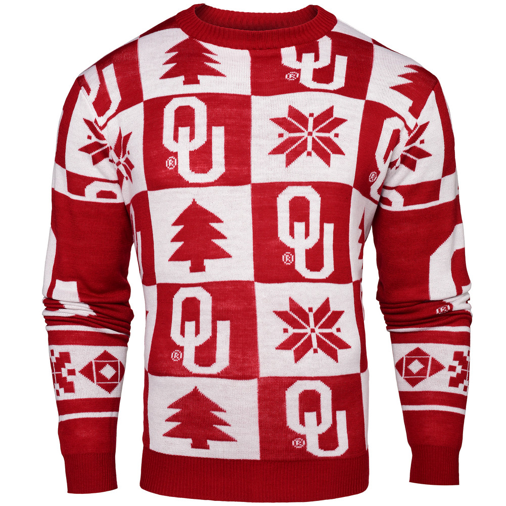Oklahoma Sooners Ugly Christmas Sweater SWTCNNC16PATOK
