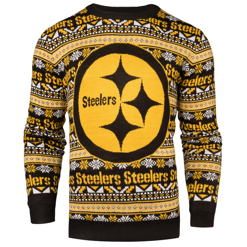Pittsburgh Steelers Ugly Christmas Sweater SWTCNNF16AZTPS