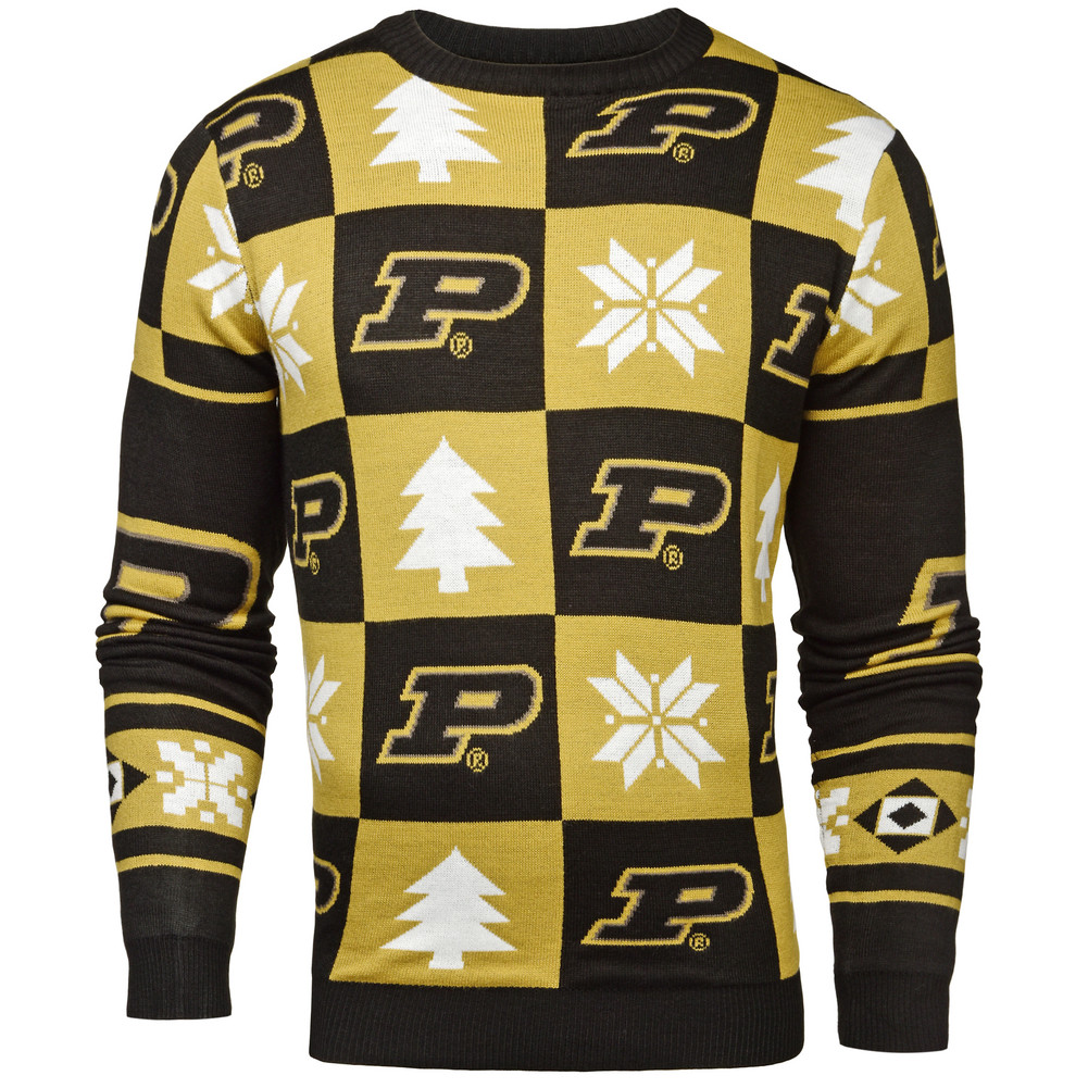 Purdue Boilermakers Ugly Christmas Sweater SWTCNNC16PATPU
