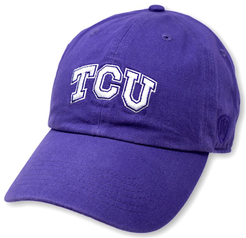 74ff6e5898f3e5 TCU Horned Frogs Hat Purple CHAMP-TXCHR-ADJ-TMC