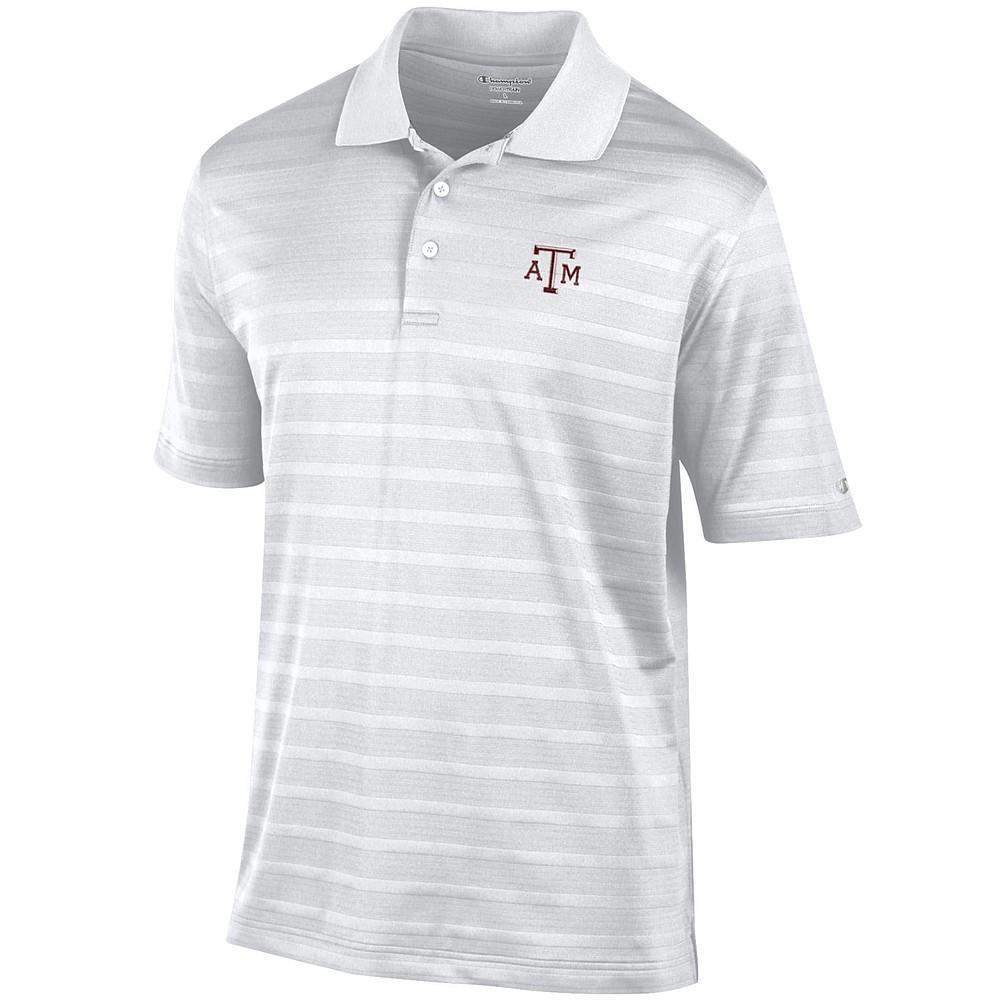 Texas Am Aggies Polo Golf White Aec02767840