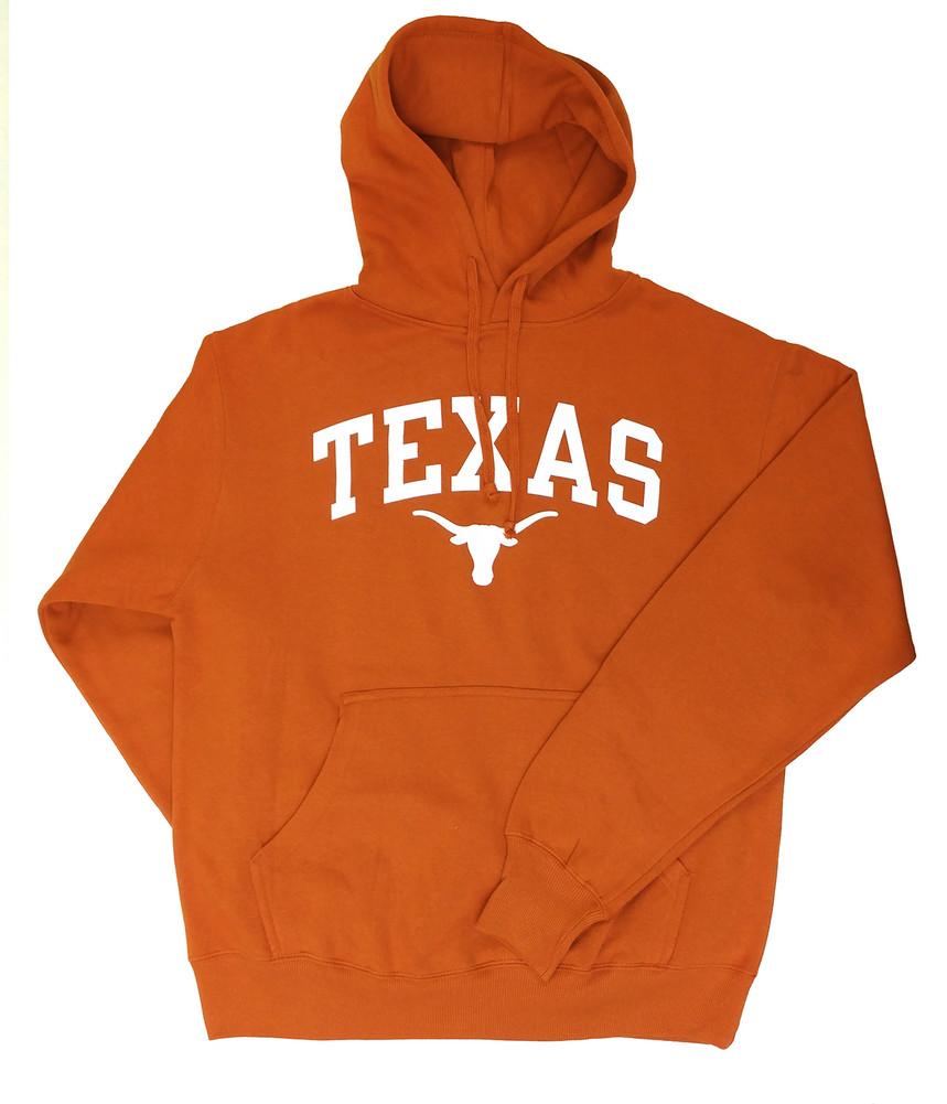 Elite Fan Shop Texas Longhorns Tshirt Arch Orange