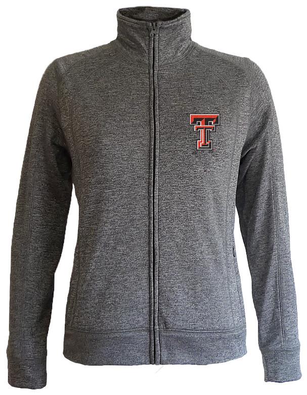00d39a5a Texas Tech Red Raiders Women's Slim Full Zip Jacket Captain TXTFT558