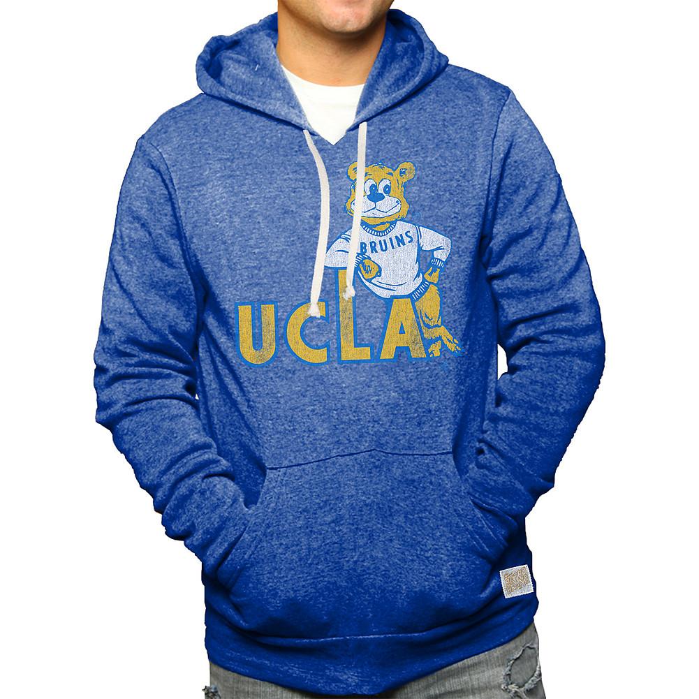 a232d51a UCLA Bruins Retro Hooded Sweatshirt Blue RB6090