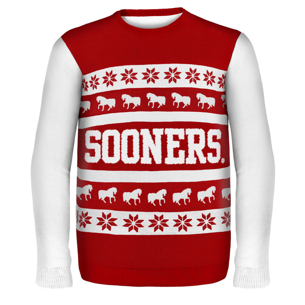 University of Oklahoma Ugly Christmas Sweater University of Oklahoma ...