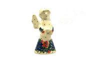 Ceramika Artystyczna Polish Pottery Angel Figurine - Small - Garden Party C66-1535a (Ceramika Artystyczna)
