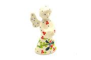 Ceramika Artystyczna Polish Pottery Angel Figurine - Small - Mistletoe C66-2390a (Ceramika Artystyczna)