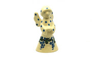 Ceramika Artystyczna Polish Pottery Angel Figurine - Small - Wisteria C66-1473a (Ceramika Artystyczna)