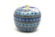 Ceramika Artystyczna Polish Pottery Apple Baker - Aztec Sky 034-1917a (Ceramika Artystyczna)