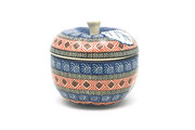 Ceramika Artystyczna Polish Pottery Apple Baker - Aztec Sun 034-1350a (Ceramika Artystyczna)