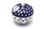 Ceramika Artystyczna Polish Pottery Apple Baker - Bleeding Heart 034-377o (Ceramika Artystyczna)